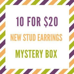 10 for $20 NEW Stud Earrings